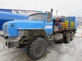Агрегат цементировочный СИН-32 на шасси Урал 4320