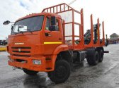 Сортиментовоз КАМАЗ 63501 с ГМ СФ-85С